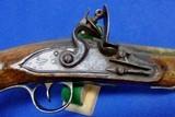 British Ketland Flintlock Holster Pistol - 6 of 10