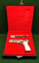 Browning Hi Power Renaissance Engraved Pistol Combo 9mm/.30 Luger - 1 of 5