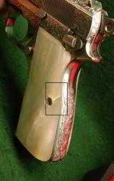 Browning Hi Power Renaissance Engraved Pistol Combo 9mm/.30 Luger - 4 of 5