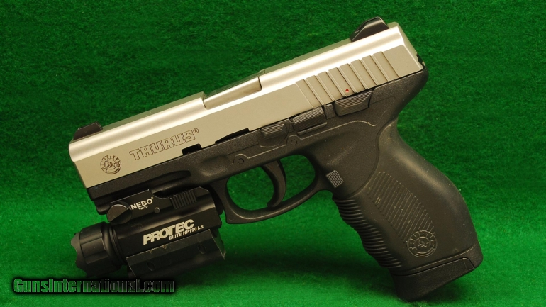 Taurus Model PT 24/7 9mm Pistol with Protec Light and Laser