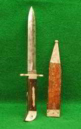 George Woodhead Spearpoint Belt Knife
