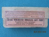 Winchester 38-56 Winchester Smokeless Soft Point, Full Box, Dated 3-19