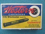 Western Bullseye Box 405 Winchester, Full