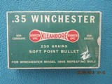 "Remington 35 Winchester ""Dogbone"" Box, Full"