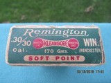 Remington Kleanbore Dogbone Box 30-30 Winchester, Marlin & Savage, Full - 5 of 9