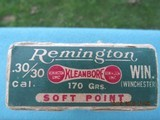 Remington Kleanbore Dogbone Box 30-30 Winchester, Marlin & Savage, Full - 3 of 9