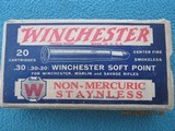Winchester 30-30 Staynless Red/White/Blue Circa Late 1920s, Full
