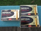 Imperial C-I-L 32-40 Winchester Ammo Box Lot, 60 Rounds