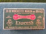 Remington Dogbone Express Mushroom 30-30 Winchester Box