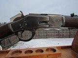 Interesting Winchester Model 1873 44 WCF Short Rifle