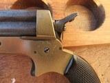 C. Sharps # 2A Pepperbox 4-Shot 30 Rimfire - 6 of 19