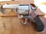 Forehand & Wadsworth British Bulldog 38 S&W 5-shot Revolver w/ammo, High Condition