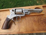 Issued & Identified Starr 1858 Double Action Revolver Belonging to Co. K, 19th PA Cavalry Soldier - 1 of 20