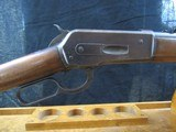 SPECIAL ORDER Winchester Model 1886 33 WCF Extra Light Rifle with Cody Sheet - 2 of 20