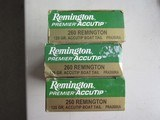 NEW OLD STOCK Remington 260 Remington Ammo, 52 Rounds, Accutip Bullet, FREE SHIPPING