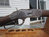 SCARCE 2nd Model Winchester Model 1873 44 WCF Rifle with Cody Verification - 3 of 20