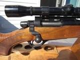 Excellent Remington Model 660 Rifle Desirable 222 Remington with Scope