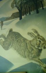 REMINGTON RABBIT AND JUMPING DEER.OLD.. WEIMER PURSELL,J.G.WOODS !!BEST OFFER!! - 6 of 10