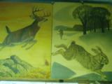 REMINGTON RABBIT AND JUMPING DEER.OLD.. WEIMER PURSELL,J.G.WOODS !!BEST OFFER!! - 1 of 10