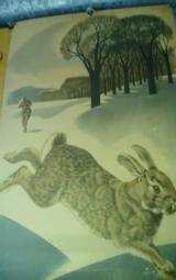 REMINGTON RABBIT AND JUMPING DEER.OLD.. WEIMER PURSELL,J.G.WOODS !!BEST OFFER!! - 7 of 10