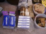 LARGE MODERN AMMO COLLECTION ALL CALIBERS MOST NEW IN BOXES- 10 of 12