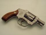 S&W MODEL 642 CUSTOM ENGRAVED..SUPER NICE REVOLVER. - 3 of 12