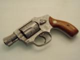 S&W MODEL 642 CUSTOM ENGRAVED..SUPER NICE REVOLVER. - 2 of 12