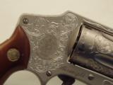 S&W MODEL 642 CUSTOM ENGRAVED..SUPER NICE REVOLVER. - 4 of 12