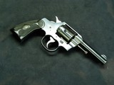 COLT ARMY SPECIAL IN 38 S&W/COLT SHORT/COLT LONG.