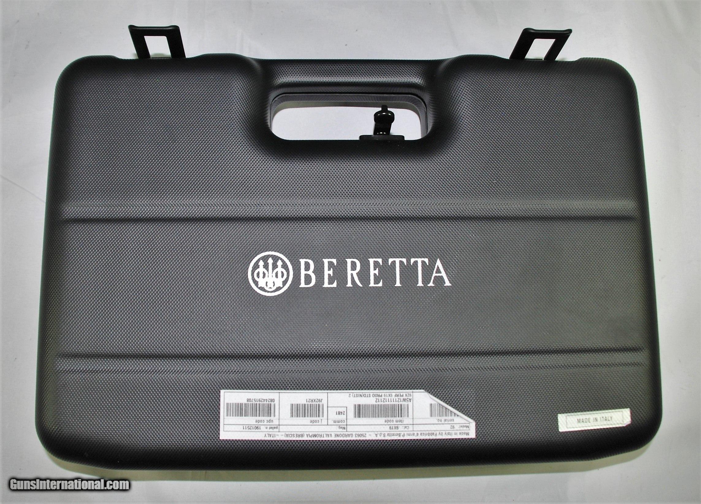 Beretta Metal Briefcase Card Holder