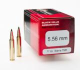 Black Hills 5.56 77-gr Tipped MatchKing ammo - 1 of 1