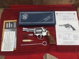 Pristine NIB Smith and Wesson Model 67 Rare Stainless Sights