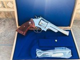 Smith and Wesson Model 29-3 Cased 44 Magnum Nickel