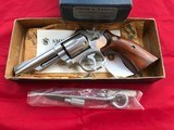 Smith and Wesson Model 66-1 Stainless Four Inch Barrel 357 Magnum
