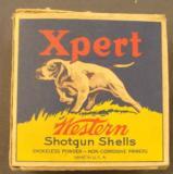 Empty Western Expert 12 GA U.S. Property Marked Shotshell box - 2 of 7