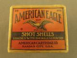 EMPTY Scarce American Cartridge Co. Flap Box for .410