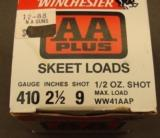 Winchester .410 GA. #9Skeet Loads AA - 2 of 3