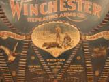 Original Winchester Cartridge Ammunition Board Double W - 12 of 12