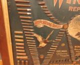 Original Winchester Cartridge Ammunition Board Double W - 4 of 12
