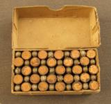 Peters .22 short RF Rifle cartridge box - 7 of 7
