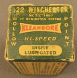Rem Kleanbore .22 Win HP BOX - 6 of 7