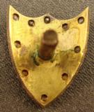 Gold Escutcheon with Diamonds - 2 of 3