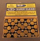 Mid 1930's CIL Super Clean Greaseless 22 Short Box - 3 of 3