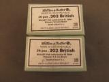 Sellier & Bellot .303 British Ammo 40 Rnds 180gr FMJ - 1 of 3