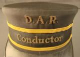 Railway conductors hat in box - 3 of 12