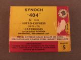 Kynoch 404 2 7/8 Nitro Express Ammo - 1 of 2
