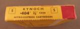 Kynoch 404 2 7/8 Nitro Express Ammo - 2 of 2