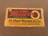 Western 25 RF Short Stevens Ammo - 1 of 2