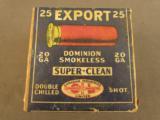 CIL Export 20 GA Shotshell Box - 1 of 7