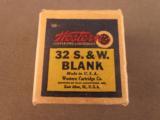 Western 32 S&W Blank Ammo 1945-47 - 1 of 7